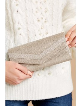 Leading Role Rose Gold Clutch by H&D Accessories