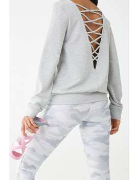 Active Crisscross Back Sweatshirt by Forever 21