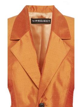 Cropped Silk Blazer by Y/Project