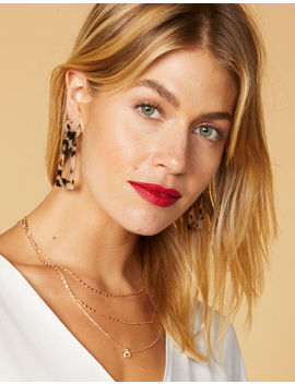West Of Melrose Moon Layered Necklace by West Of Melrose