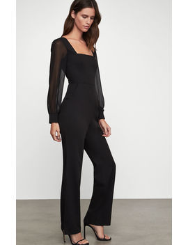 Square Neck Jumpsuit by Bcbgmaxazria