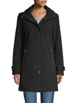 Hooded Soft Shell Jacket by Calvin Klein