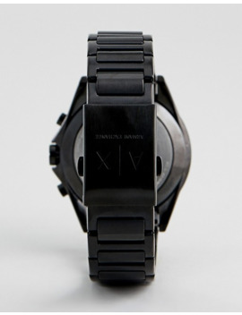 Armani Exchange – Connected Axt1007 – Hybrid Smartwatch In Schwarz Ip by Asos