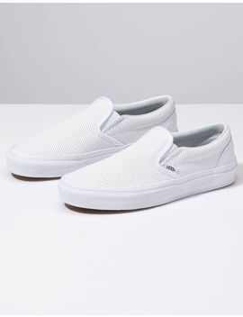 Vans Perf Leather Slip On Womens Shoes by Vans