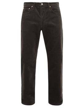 1996 Straight Leg Cotton Blend Corduroy Trousers by Acne Studios