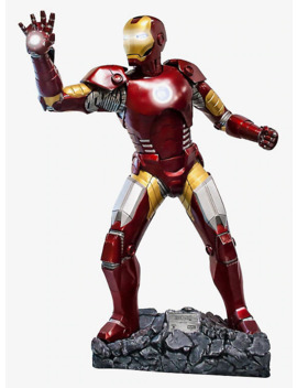 Marvel Iron Man Life Size Collectible Statue by Hot Topic