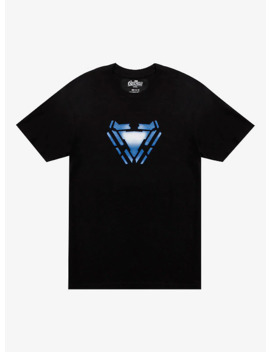 Marvel Avengers: Endgame Tony Stark Arc Reactor T Shirt by Hot Topic