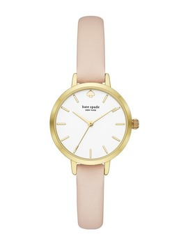 Women's Metro Leather Strap Watch, 30mm by Kate Spade New York