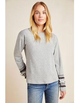 Lessie Fringe Sleeved Sweatshirt by Junie
