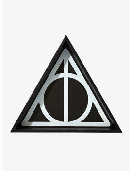 Harry Potter Deathly Hallows Symbol Wall Shelf by Hot Topic