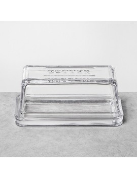 Butter Dish Glass Clear   Hearth & Hand™ With Magnolia by Hearth & Hand With Magnolia