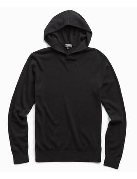 Cashmere Hoodie In Black by Todd Snyder