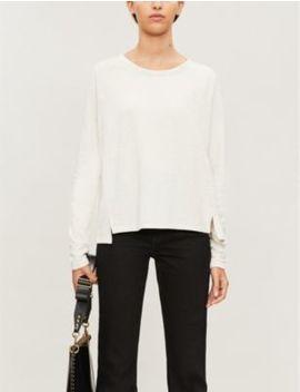 Milly Stretch Jersey Sweatshirt by Allsaints
