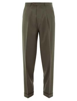 Nathan Wool Tapered Leg Trousers by Éditions M.R