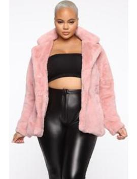 Highly Classified Queen Jacket   Pink by Fashion Nova