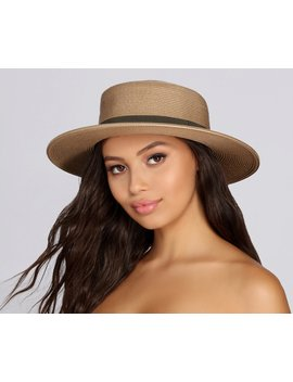 Boat Babe Woven Hat by Windsor