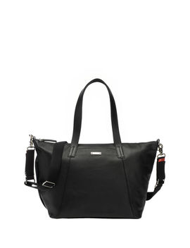 Noa Leather Diaper Tote Bag by Storksak