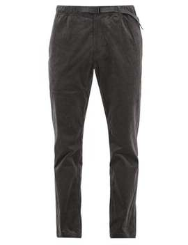 Dropped Seat Stretch Cotton Corduroy Trousers by Gramicci