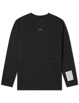 Acne Studios Long Sleeve Elogho Logo Tee by End.