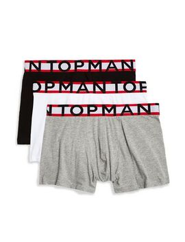 Assorted Colour With Tipping Waistband Trunks by Topman