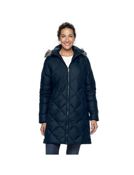 Women's Columbia Icy Heights Ii Hooded Mid Length Down Jacket by Columbia