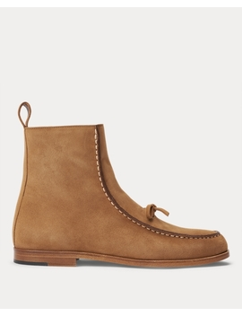 Delaney Leather Boot by Ralph Lauren