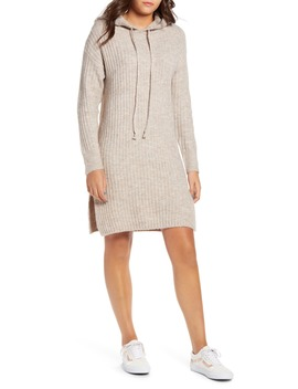 Hoodie Sweater Dress by Dreamers By Debut