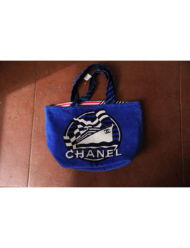 Chanel Reversible Beach Bag by Chanel  ×