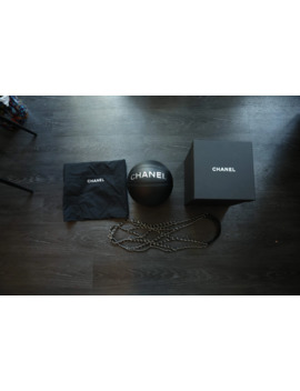 Chanel Basketball / Bag W/Silver Tone (Limited Edition by Chanel  ×