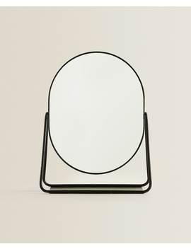 Espejo Pie Perfil Negro Ver Todo   Última Semana by Zara Home