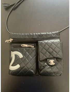 Ligne Cambon Messenger Bag by Chanel  ×