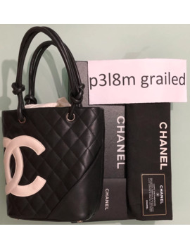 Chanel Cambon Leather Bag by Chanel  ×