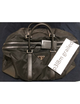 Brand New Prada Black Travel Nylon Duffle Luggage Bag by Prada  ×
