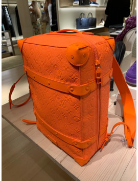 Louis Vuitton Soft Trunk Backpack Monogram Mca Orange by Louis Vuitton  ×