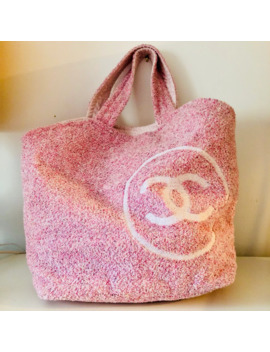 Chanel Terry Cloth Bag by Karl Lagerfeld  ×  Chanel  ×
