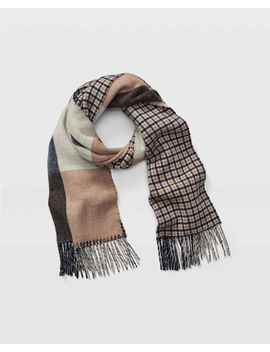 Thisbee Check Wool Scarf by Club Monaco