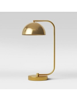 Valencia Led Task Lamp Brass (Includes Energy Efficient Light Bulb)   Project 62™ by Project 62