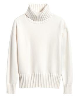 Chunky Turtleneck Sweater by Banana Repbulic