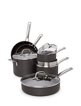 Classic Nonstick 10 Piece Cookware Set by Calphalon