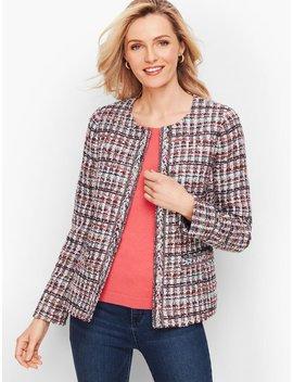 Adele Tweed Jacket by Talbots