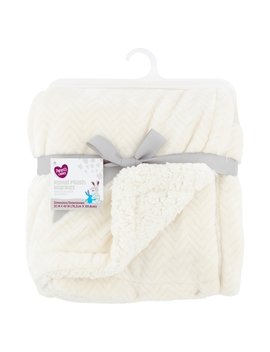 Parent's Choice Royal Plush Blanket, Available In Multiple Colors by Parent's Choice