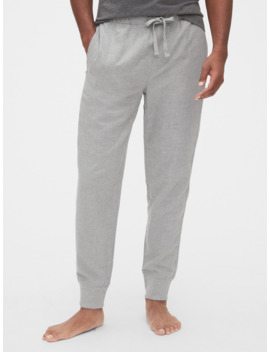Flannel Pajama Joggers by Gap