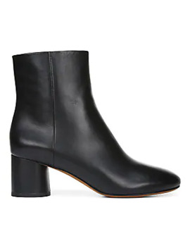 Galia Leather Booties by Vince