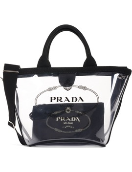 Transparent Tote by Prada