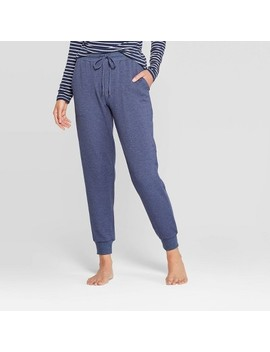 Women's Beautifully Soft Fleece Lounge Jogger Pants   Stars Above™ Navy by Stars Above