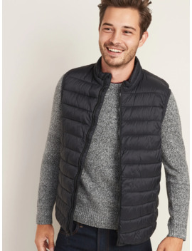 Water Resistant Packable Puffer Vest For Men by Old Navy