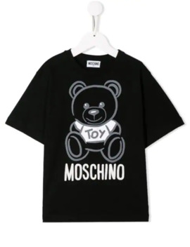 Short Sleeved T Shirt by Moschino Kids