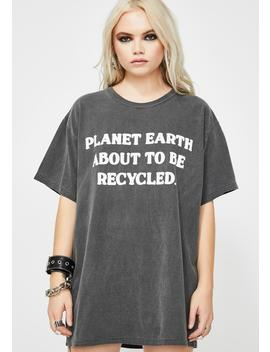 Planet Earth Graphic Tee by Slushcult