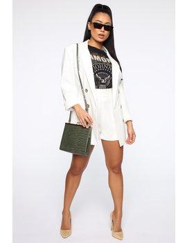 Always Movin Crossbody Bag   Olive by Fashion Nova