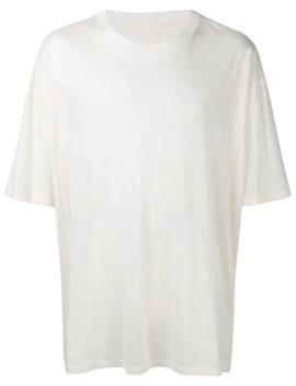 T Shirt Im Oversized Look by Maison Margiela